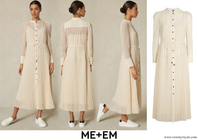 Countess of Wessex wore ME+EM Polka-Dot Maxi Dress