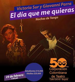 CONCIERTO Victoria Sur y Giovanni Parra | Noches de Tango