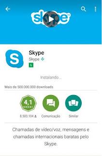 Como fazer instalação do Skype
