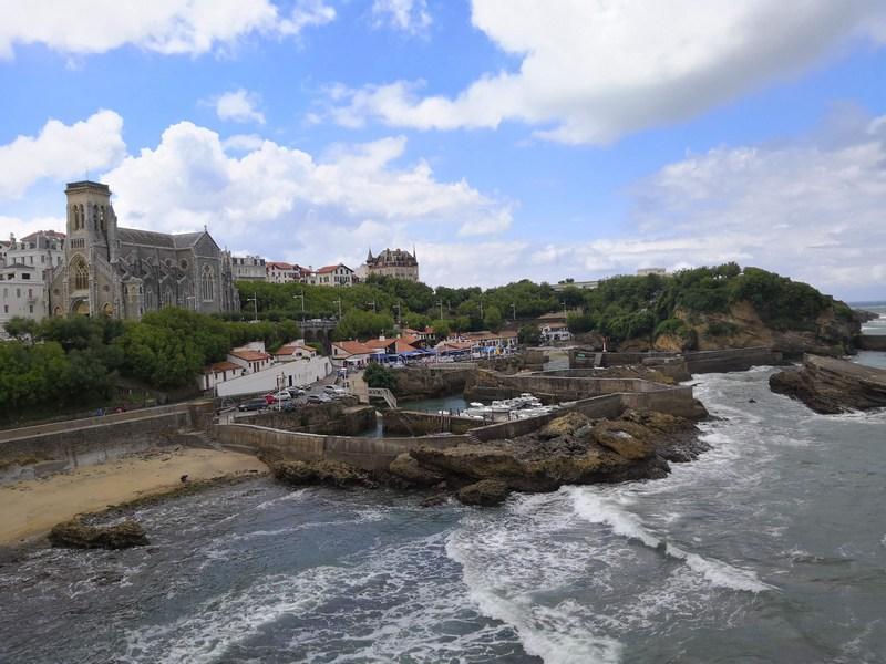 Vieux port de Biarritz