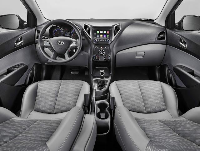 Hyundai HB20 2018 Automático - interior