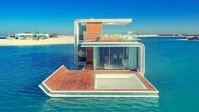 Villa Penginapan paling unik