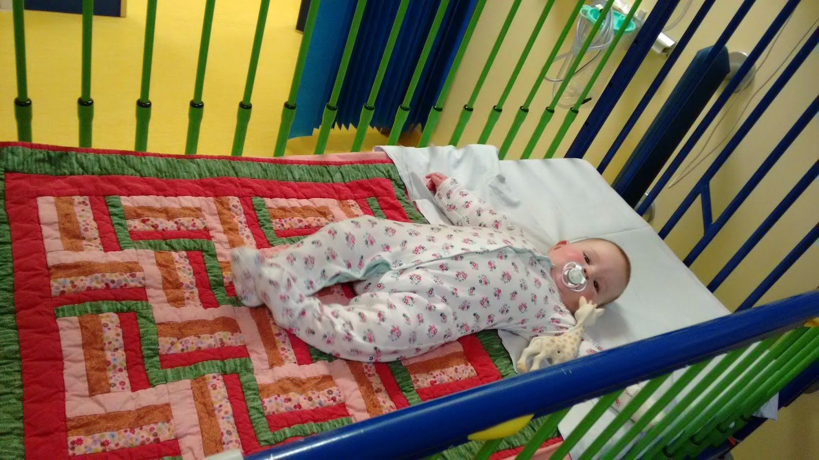 baby in hospital