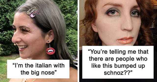 """Women Are Posting Their Noses That Look Like """"Before"""" Photos (42 New Pics)"""