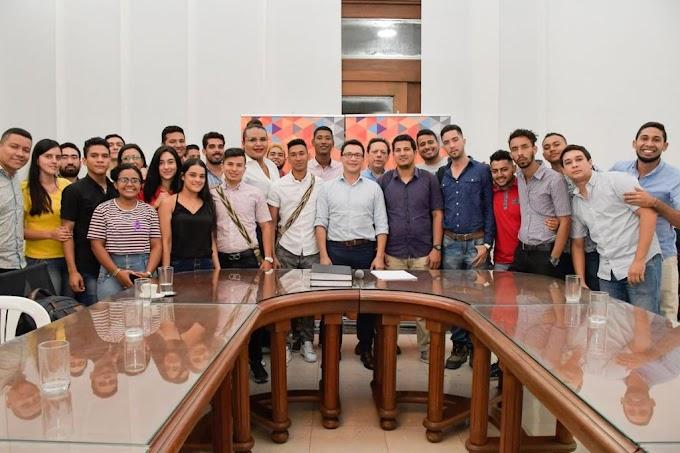 Gobernador Caicedo garantiza matrícula cero en educación superior para jóvenes del Magdalena