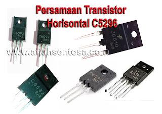Persamaan Transistor Horisontal C5296