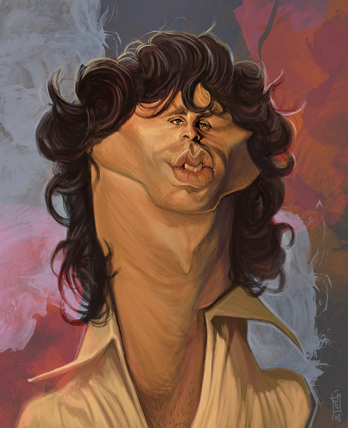 """""""Jim Morrison"""" por Alberto Russo"""