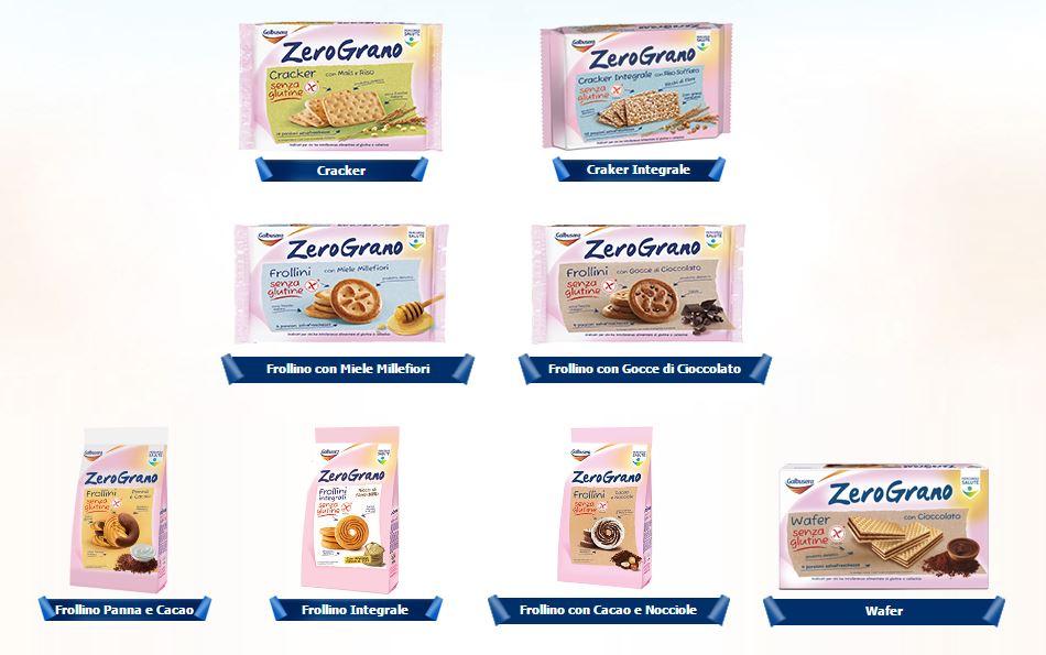 Canzone Galbusera Zero Grano biscotti senza glutine Pubblicità