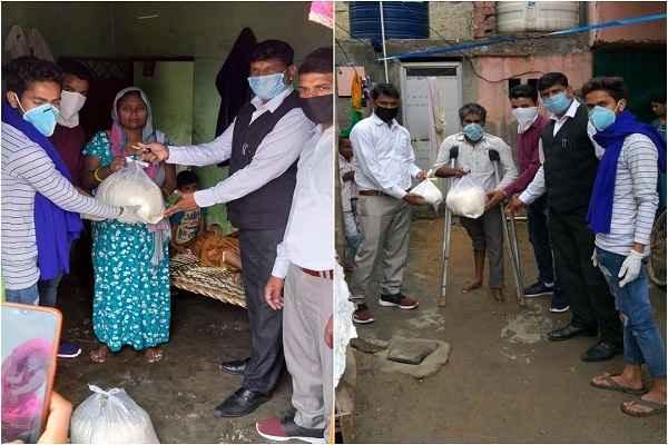 faridabad-bhim-army-started-help-poor-lock-down-in-faridabad-news