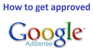 how to get approved google adsense