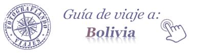 guía viaje bolivia