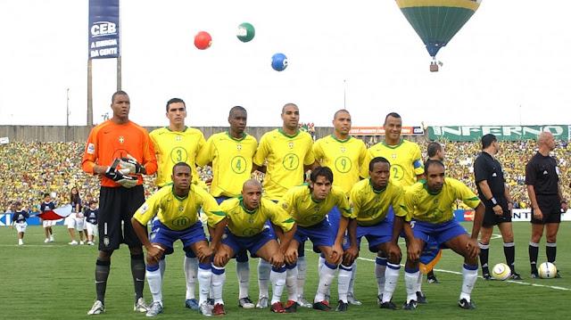 Formación de Brasil ante Chile, Clasificatorias Alemania 2006, 4 de septiembre de 2005