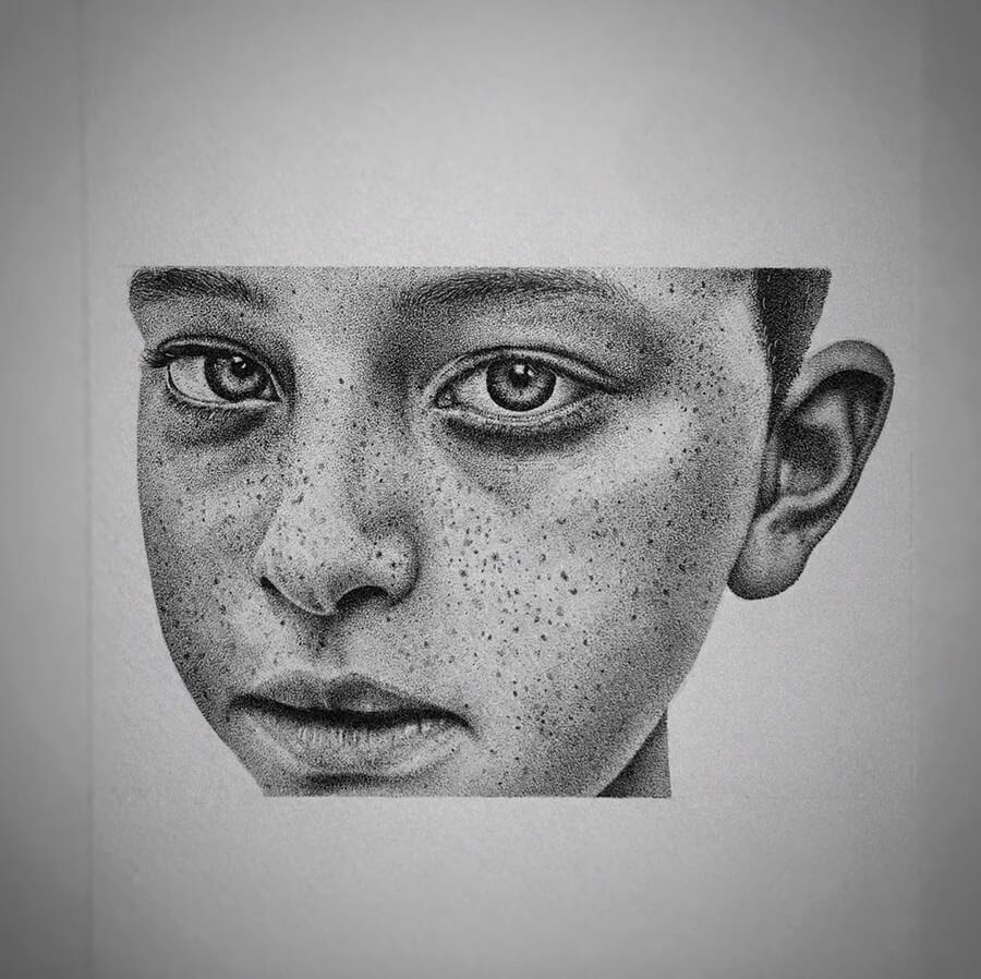 13-Young-Boy-Paige-Bates-Stippling-Drawings-www-designstack-co