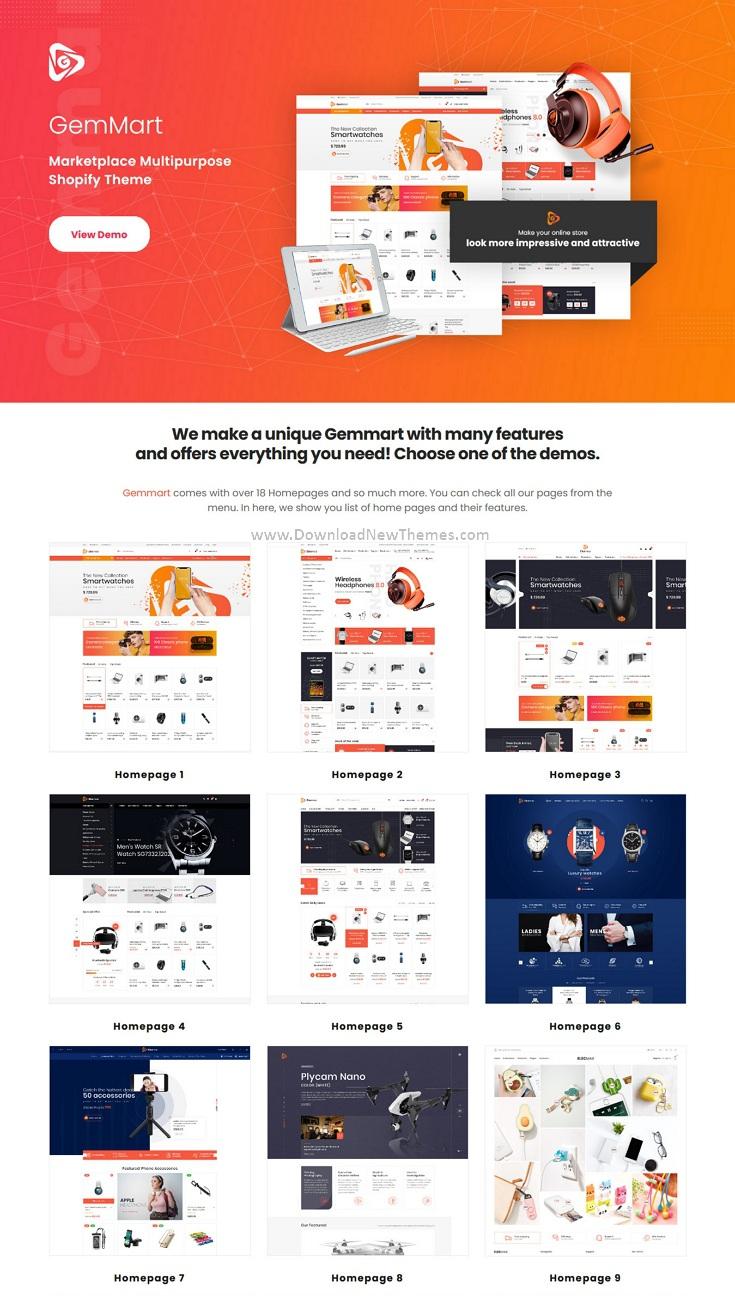 Marketplace Multipurpose Shopify Theme