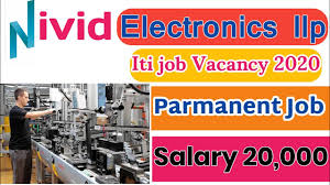 ITI / Diploma/ BE (electronics) Jobs Vacancy In Nivid Electronics LLP Gota, Ahmedabad