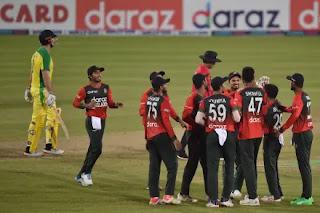 Bangladesh vs Australia 3rd T20I 2021 Highlights