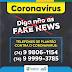 Prefeitura de Filadélfia alerta sobre casos de Fake News acerca do Coronavírus no município