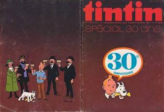 Tintin numéro 40, 1976, Spécial 30 ans