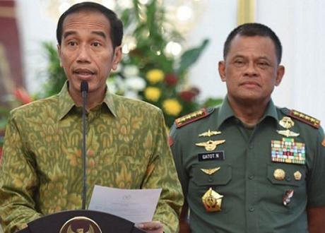 Presiden Jokowi Didesak Segera Ganti Panglima TNI