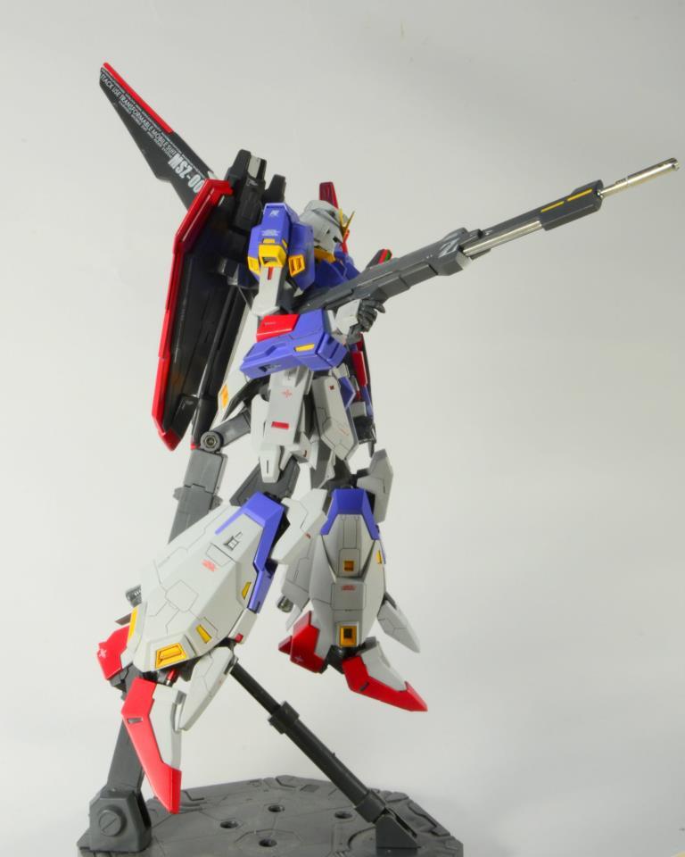 1100 MSZ010 ZZ Gundam Extra Fit Resin Kit t