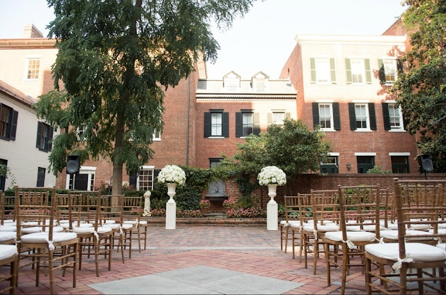 Historic Wedding Venues Dc Decatur House on Lafayette Square