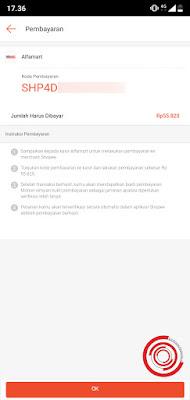 3. Terakhir, silakan screenshot atau tangkap layar kode pembayaran tersebut untuk mempermudahkan kasir melakukan input kode