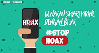 Contoh Desain Gambar Iklan Layanan Masyarakat Tentang Hoax