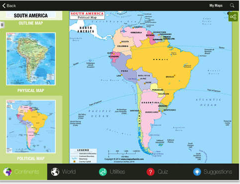 4 handy atlas apps to help students learn about the world world atlas hd is an informative maps app a rich repository of political physical boundary and thematic maps providing last mile information on gumiabroncs Gallery