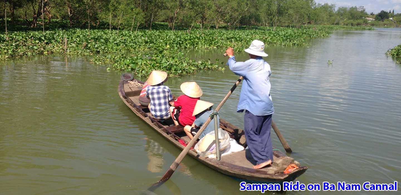 real-mekong-delta-tour-Sampan-Ride-on-Ba-Nam-Cannal