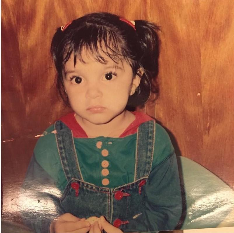 kiara advani childhood photo