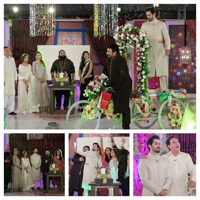 Wrong Number Team At Nida Yasir Eid Special Show