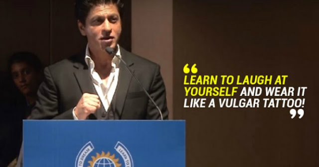 SRK's Inspiring Graduation Speech On 'Being Yourself' At Dhirubhai Ambani International School
