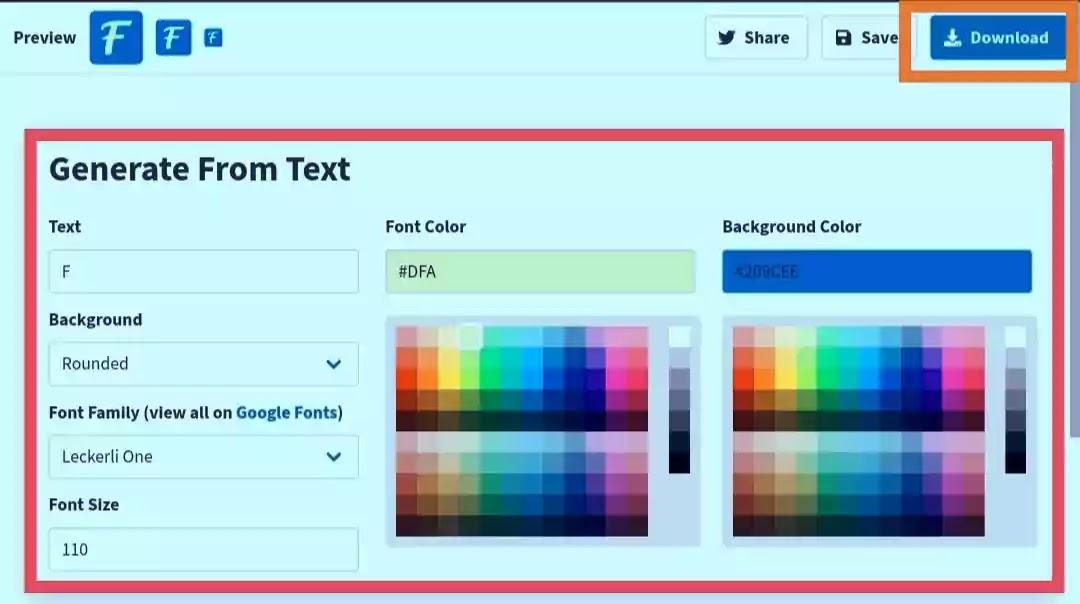 Mironiyar : Favicon create and add website