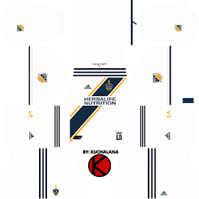 LA Galaxy Kits 2018 - Dream League Soccer Kits