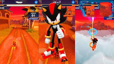 تحميل لعبة المغامرات Sonic Dash 2 مهكرة للأندرويد آخر إصدار