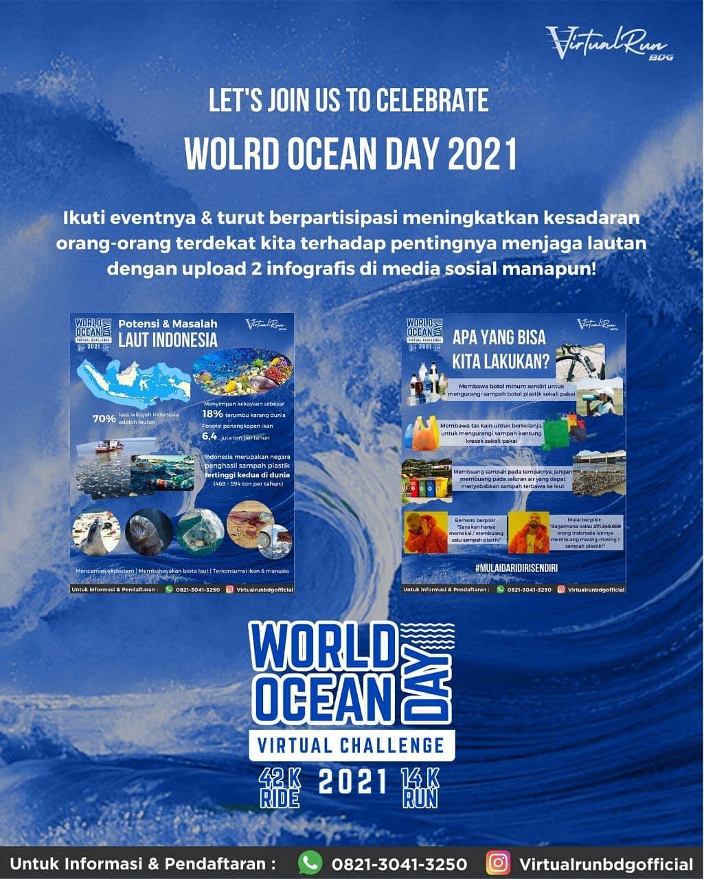 World Ocean Day Virtual Challenge • 2021