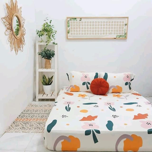 Dekorasi Kamar Tidur Ukuran 3×3 dengan Tanaman Hias