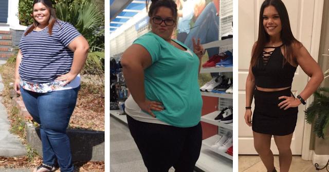 Jessica a changé ces 2 mauvaises habitudes et a perdu 80 kg en 2 ans