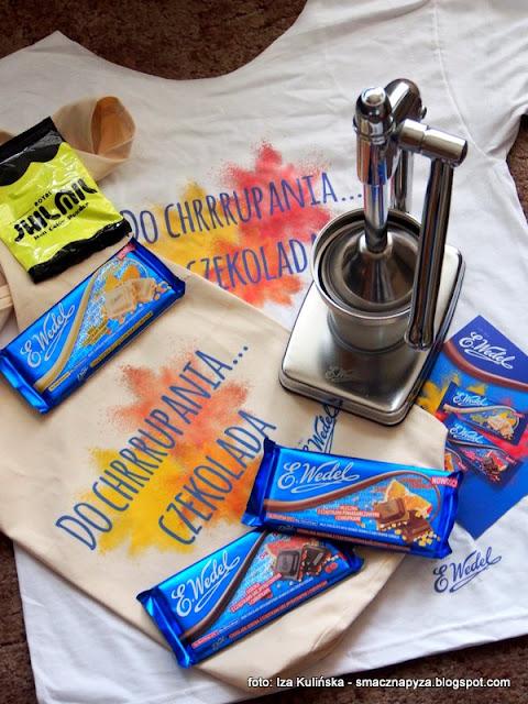 konkursy , zabawa , nagrody , wygraj to , czekolada , wyciskarka do cytrusów , chrupnij sobie