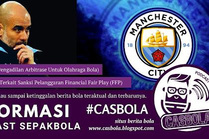 Putusan CAS Terhadap Sanksi Manchester City