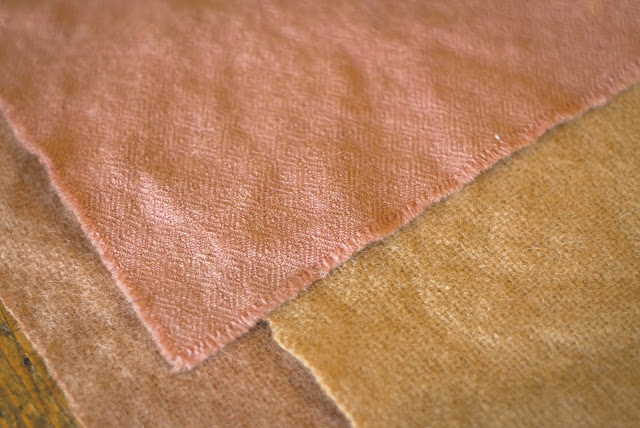 Akorn dyed fabric samples