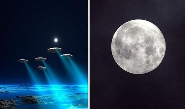 Phát hiện ra vật thể bay không xác định UFO trên mặt trăng, NASA đang che giấu sự thật này