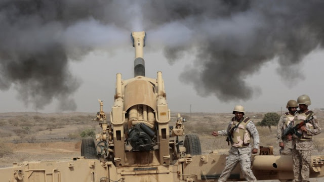 Koalisi Arab Bantai Seorang Pemimpin dan 40 Syiah Houthi di Perbatasan Yaman