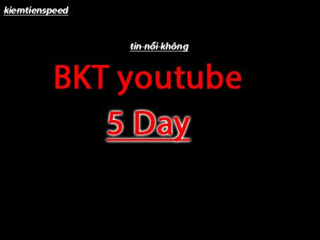 """Chia sẻ kinh nghiệm """"bật kiếm tiền youtube trong 5 ngày"""" và kiếm tiền reup nhanh"""