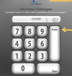 Cek Tag PDAM Bandung