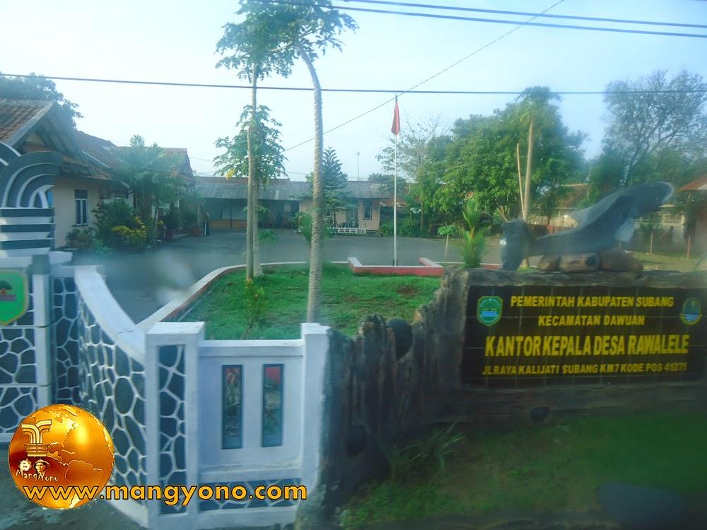 FOTO 4 : Desa Rawalele, Kecamatan Dawuan.