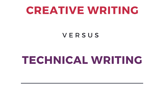 Difference between Creative Writing and Technical Writing