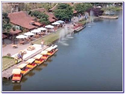 Floating  market Lembang terbaru
