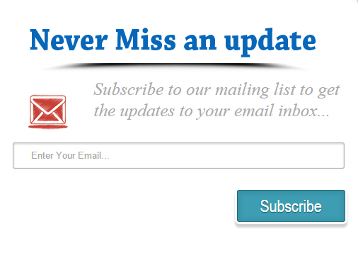 Add Popup Email Subscription