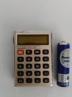 Casio Mini Micro Calculator-www.djejakmasa.blogspot.com